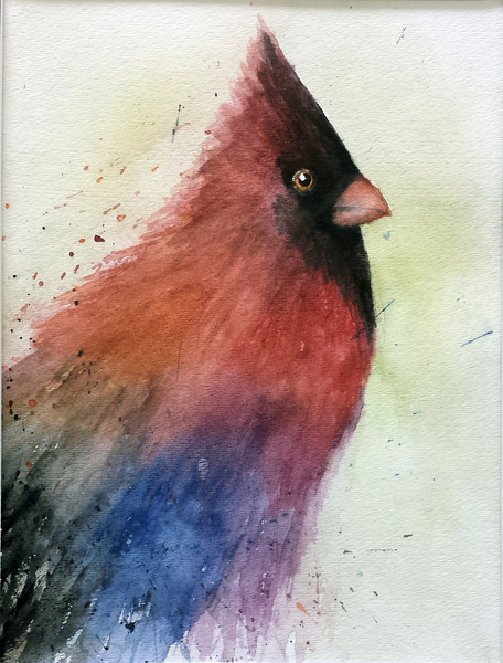 Wedding, Abi - 2013<br /> Watercolor, 9x12<br /> EMC Honorable Mention