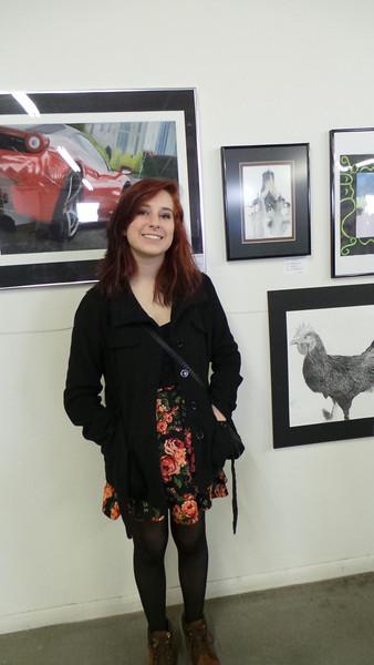 Pre-sha Holley<br /> EMC Art Show, 2014