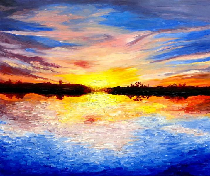Hinrichs, Maddie<br /> Acrylic Paint, 20x24