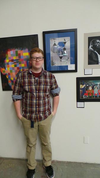 Zach Hall<br /> EMC Art Show, 2014