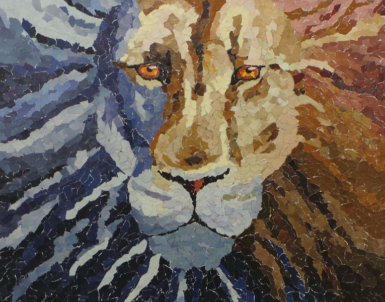Scheele, Cameron - 2013<br /> Paper Mosaic