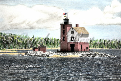 Round Island Lighthouse-Color-CLW-WM
