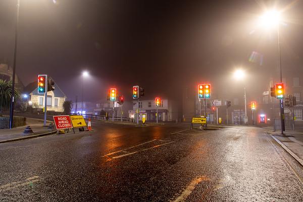Foggy Haywards Heath