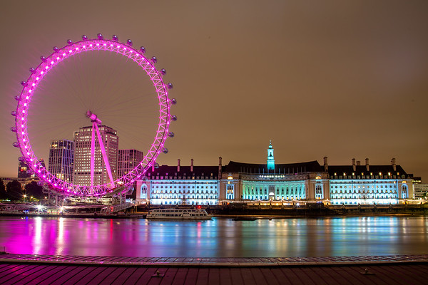 GLC and the London Eye