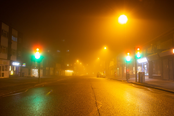 Foggy Haywards Heath