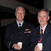 Former RAN squadron friends, AM Mark Binskin AO and Sub-Lieutenant Colin Tomlinson.