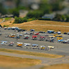 bokeh effect applied to make the airfield look like a toy/model. Also boosted saturation. Original image follows.