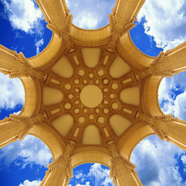 Full Dome with Sky