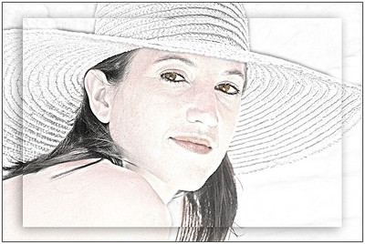 Girl in the Straw hat