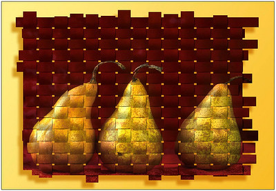 Woven Pears