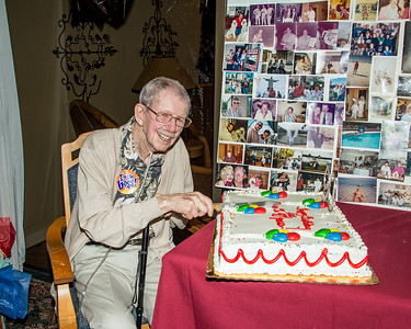 Art's 90th Birthday Party - March 25, 2017 – Chuck Carroll