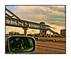 "A quick shot from the window of our speeding car as we passed one of the rapid transit stations located along I-25.  My self portrait was an inadvertent by-product.  I created numerous versions of this shot, using different effects. If you are interested in seeing the others, they are here:  <a href=""http://fotoeffects.smugmug.com/gallery/8149582_XNSEE#P-1-12"">http://fotoeffects.smugmug.com/gallery/8149582_XNSEE#P-1-12</a>.  Happy Mother's Day to all mothers!"
