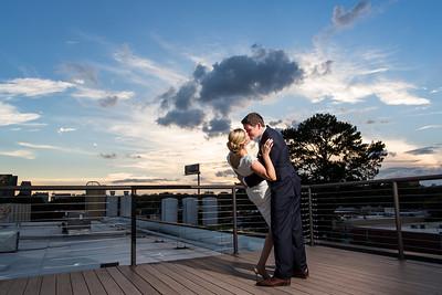 Ashli + Dan wedding celebration at Lowes Hotel and Sweet Water Brewery