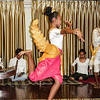 Back on boat, Cambodian dancers, who are students.