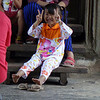 ANGKOR WAT. LITTLE GIRL