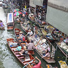 Floating Market of Bangkok.