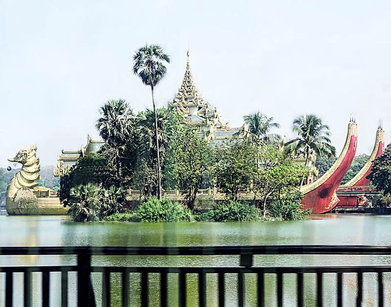 Floating Dragons of Yangon.