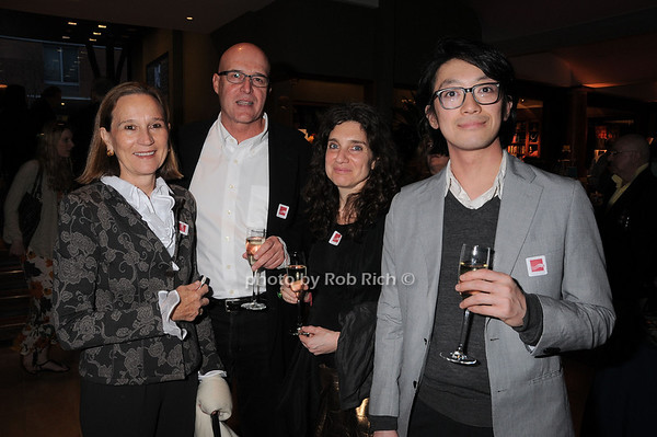 Liz Knight, Michael McCormick, Alison Bradley, Go Sugimoto<br /> photo by Rob Rich © 2010 robwayne1@aol.com 516-676-3939
