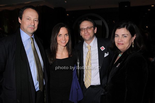 Conor Mahoney, Justena Kavanagh, Noah Kupferman, Tina Kavanagh<br /> photo by Rob Rich © 2010 robwayne1@aol.com 516-676-3939