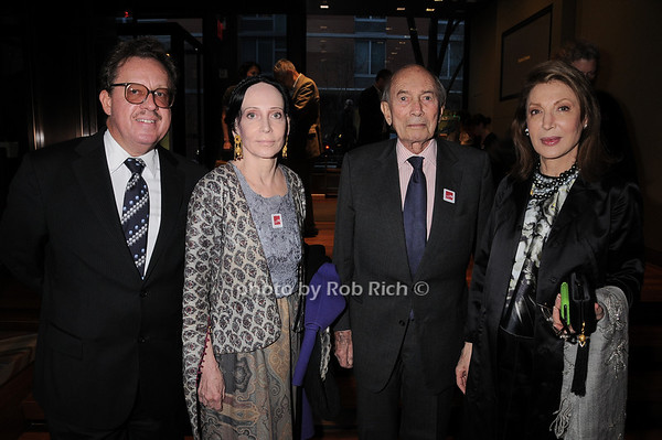 Gregory Speck, Mary McFadden, Frank Wyman, Victoria Wyman<br /> photo by Rob Rich © 2010 robwayne1@aol.com 516-676-3939
