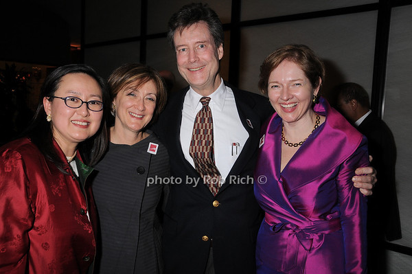Jiyoung Koo, Joan Mirviss, William Singer, Catherine Sweeney Singer<br /> photo by Rob Rich © 2010 robwayne1@aol.com 516-676-3939