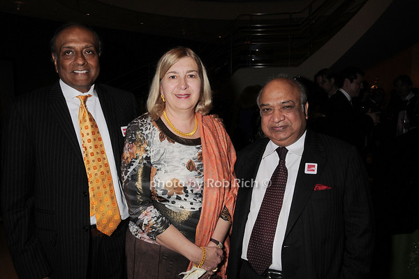 Ravi Akhoury, Ginny Akhoury, Navin Kumar