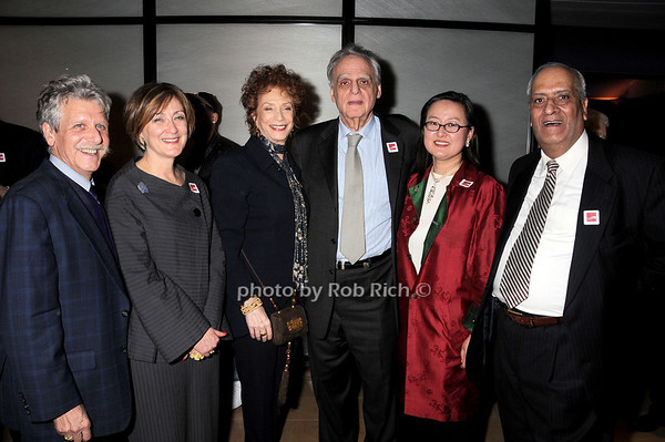 Arnold Lieberman, Joan Mirviss, Shelley Rubin, Donald Rubin, Jiyoung Koo, Ramesh Kapoor <br /> photo by Rob Rich © 2010 robwayne1@aol.com 516-676-3939