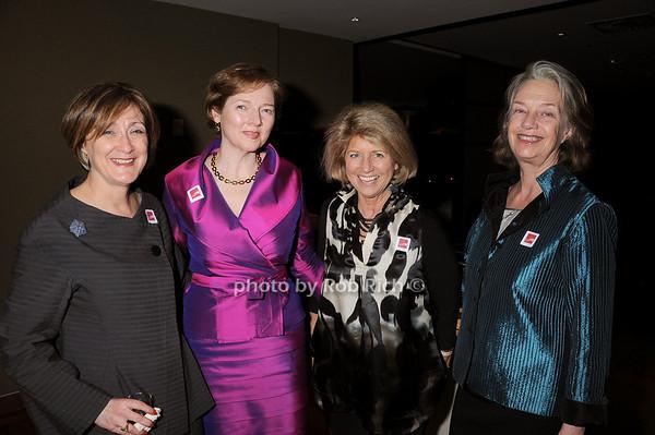 Joan Mirviss, Catherine Sweeney Singer, Wendy Moonan, Suzanne Charle<br /> photo by Rob Rich © 2010 robwayne1@aol.com 516-676-3939