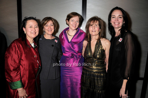 Joan Mirviss, Catherine Sweeney Singer, Jiyoung Koo, Marilyn White, Margi Gristina<br /> photo by Rob Rich © 2010 robwayne1@aol.com 516-676-3939