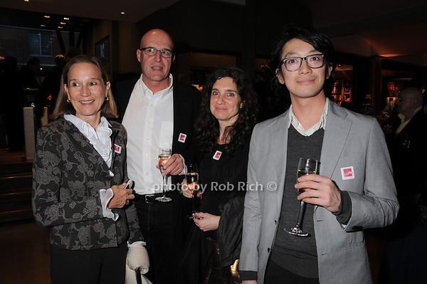 Liz Knight, Michael McCormick, Alison Bradley, Go Sugimoto<br /> photo by Rob Rich © 2010 robwayne1@aol.com 516-676-3939