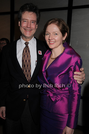 William Singer, Catherine Sweeney Singer<br /> photo by Rob Rich © 2010 robwayne1@aol.com 516-676-3939