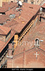 Fig 5.21 / Aerial photo of red roofs of Bologna.<br /> <br /> Choice 11 of 12<br /> <br /> B6F7X6 View from Torre degli Asinelli, Italy, Bologna