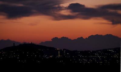Dundee dawn.  8am, 25/12/14