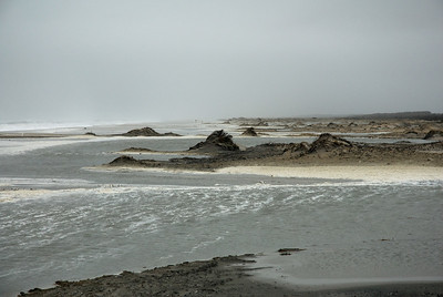 """Thanksgiving day 2006  Nor'Easter.......Like the sign says at the OSV entrance :""""Beach may be impassable at high tide"""""""