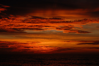This sunrise speaks for itself.