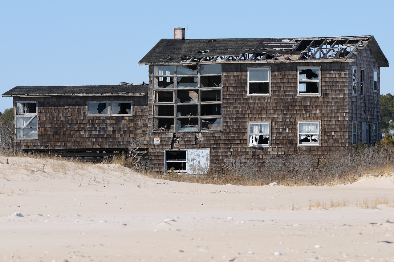 The Clemments Beach house.