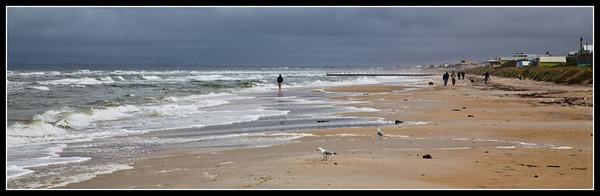 Stormy Saturday morning walk
