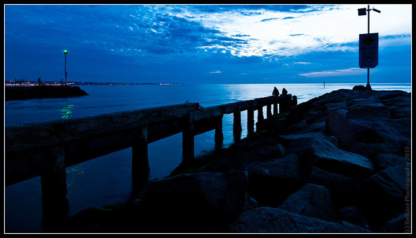 Patterson River mouth on Port Phillip bay after sunset. Watching the Snapper boats come back home and grabbed a few frames.