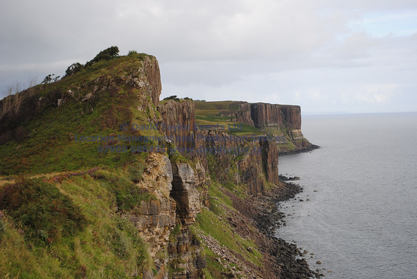 View From Cliffs South of Kilt rock - 2