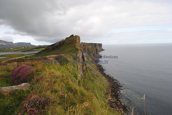View From Cliffs South of Kilt rock - 3