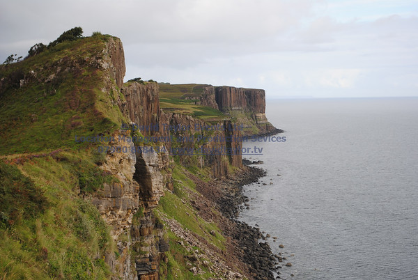 View From Cliffs South of Kilt rock - 1