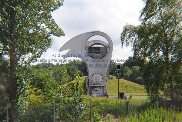 Falkirk wheel (Path to car park 15S) - 3