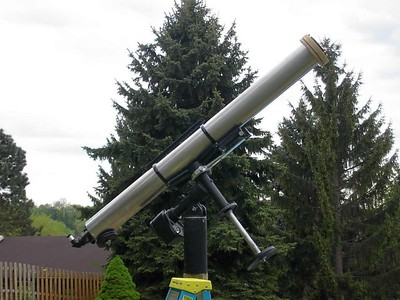 Here's a shot of one of Dans favorite all time instruments! Dan McKeel 6 inch Jaegers F-15 Refractor.