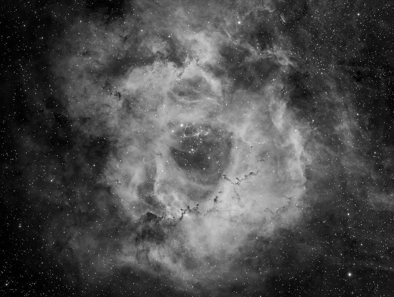 Rosette Nebula<br /> <br /> Equipment<br /> FSQ106ED<br /> QSI683WSG-8<br /> PME<br /> <br /> Image details<br /> Ha - 450 minutes