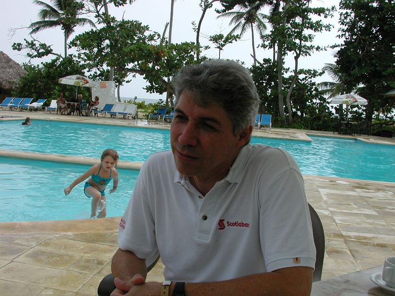 Our host and the person responsible for bringing us to the resort, and Astronomical Event at the resort, Mr. Eric Ramos.