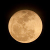 Rising Super Moon - Waning Gibbous