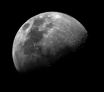 The Moon in hydrogen alpha light.