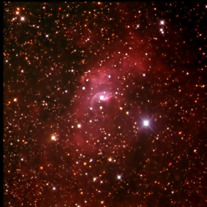 The Bubble Nebula - Not my FSQ