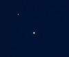 Jupiter, Venus, & the moon.