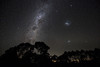 The Milky Way and the Magellanic Clouds as seen from Heathcote, Victoria